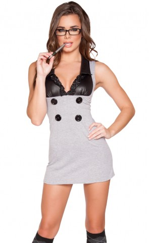 Sultry Detention Diva Costume