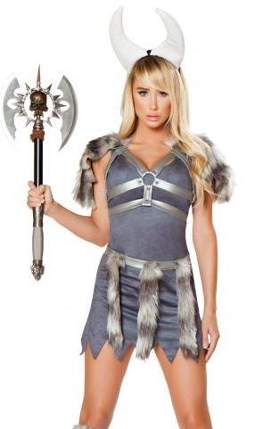 Sexy Viking Dress Costume