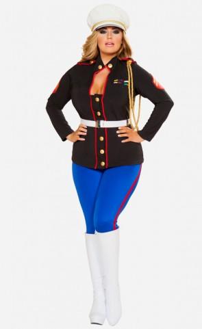 Sexy Marine Corporal Costume Plus Size
