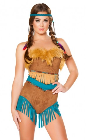 Tribal Vixen Romper Costume