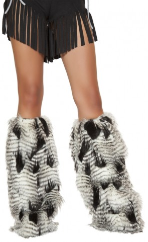 Native American Costume Leg Warmers