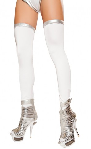 Space Commander Costume Thigh Highs