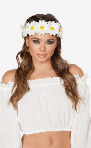 Light-Up Sunflower Headband