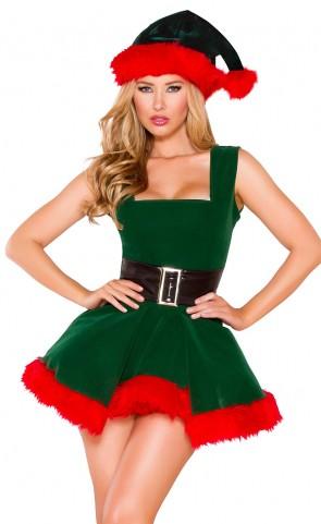 Head Elf Cutie Costume Dress