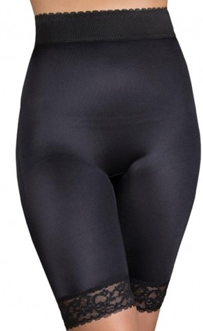 Rago Hi Waist Long Leg Panty Shaper Plus Size