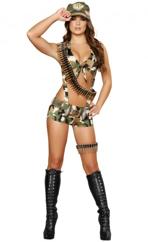 Seductive Soldier Costume