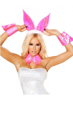 Pink Bunny Costume Accessories