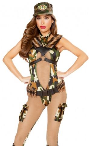 Sassy Army Costume