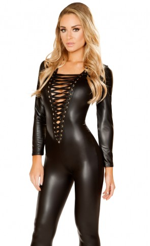 Multi Purpose Wet Look Catsuit