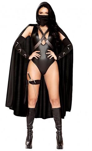 Ninja Villain Romper Costume