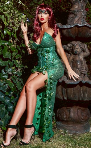 Ivy Lover Corset Costume