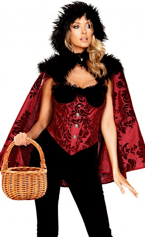Little Dark Red Costume