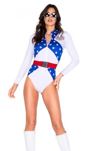 Sassy Bike Racer Girl Costume