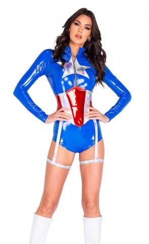 America's Superhero Captain Costume