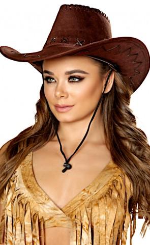Pinup Sheriff Costume Hat