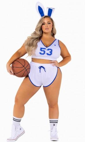 6 PC Playboy Sport Costume Plus Size
