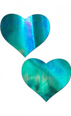 Iridescent Heart Pasties