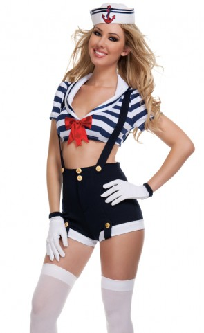 Harbor Hottie Costume