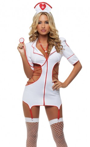 Cut Out Nurse Costume