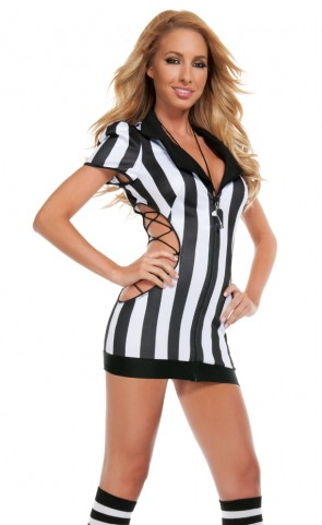 Cut Out Referee Costume