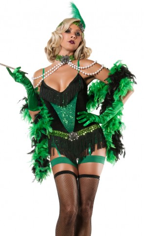 Emerald Flapper Costume