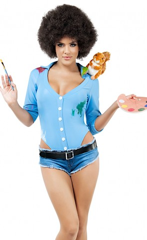 Happy Tree Painter Costume
