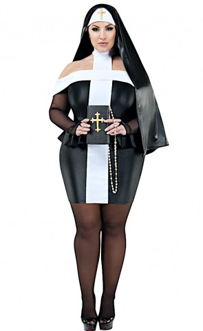 Sacrilege Sister Costume Plus Size