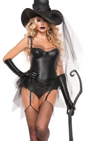 Black Spider Witch Costume