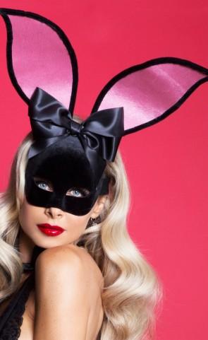 Playtime Bunny Velvet Mask