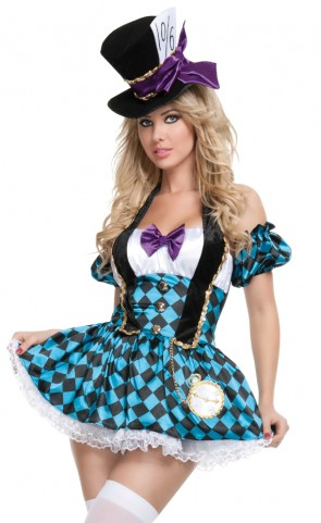Mad Hatter Dress Costume