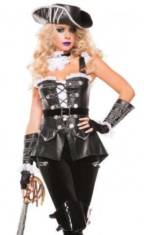 Noir Pirate Costume