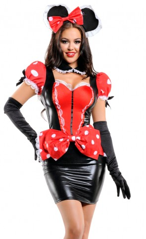 Pin-Up Mouse Costume
