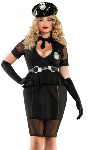 Plus Size Nightshift Cop Costume
