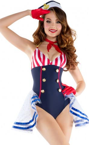 Skimpy Sailor Romper Costume
