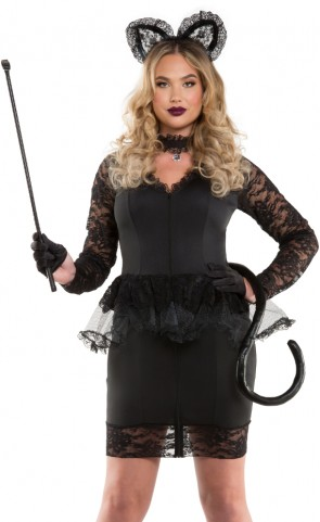 Miss Meow Costume Plus Size