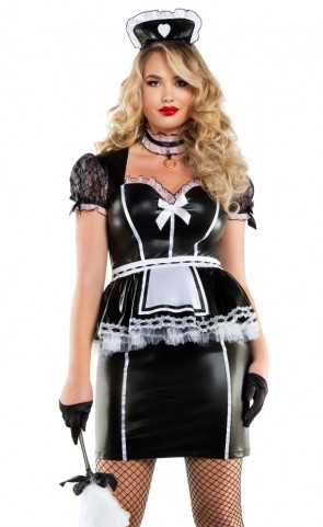 Mistress Maid Costume Plus Size