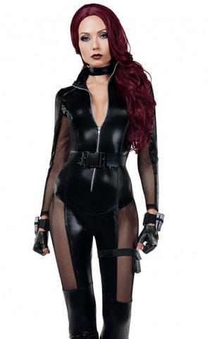 Avenging Assassin Catsuit Costume