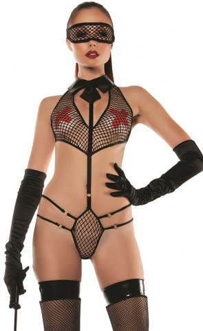 Roleplay Collared Mesh Teddy