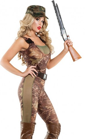 Hunter Hottie Catsuit Costume