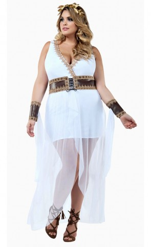 Grecian Goddess Costume Plus Size