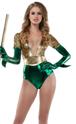 Atlantis Queen Romper Costume