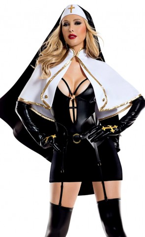 Blasphemous Babe Costume