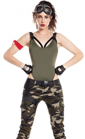 Nitetime Gamer Soldier Costume