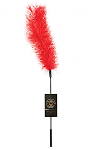 Sportsheets Body Tickler Ostrich Feather