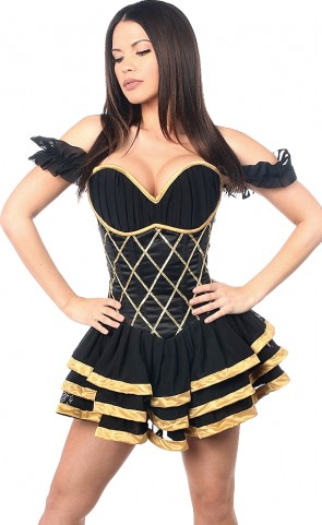 Egyptian Corseted Dress Costume