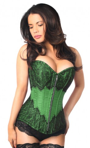 Top Drawer Brocade & Lace Corset