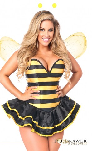 Queen Bee Corset Costume Plus Size