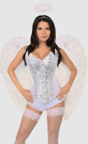 Sweet Angel Corset Costume