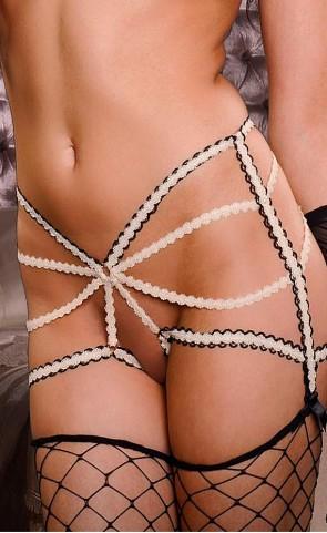 Strappy Garter Belt