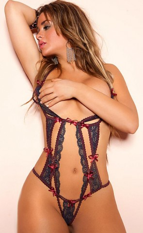 Peek-A-Boo Lace & Straps  Body